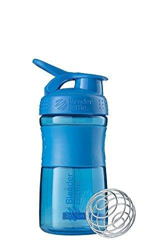 Blenderbottle Sportmixer Tritan Grip Shaker Bottle Cyan/Cyan 20-Oz