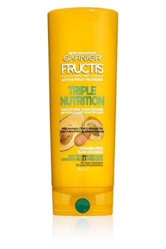 Garnier Fructis Triple Nutrition Conditioner, Dry To Very Dry Hair, 12 Fl. Oz.