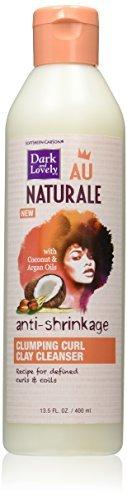 Softsheen-Carson Dark And Lovely Au Naturale Anti-Shrinkage Clumping Curl Clay Cleanser, 13.5 Fl Oz