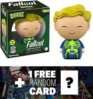 Adamantium Skeleton Glow-In-Dark] (Specialty Series): Funko Funko Dorbz X Fallout Vinyl Figure + 1 Free Video Games Themed