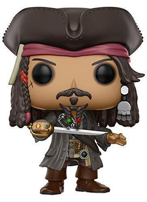 Funko Pop Disney Pirates Of The Caribbean Jack Sparrow Action Figure