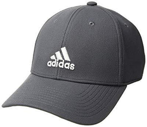 Adidas Men's Rucker Stretch Fit Cap - Onix/White - Small/Medium
