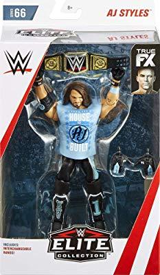 Wwe Aj Styles Elite Collection Series # 66 Action Figure