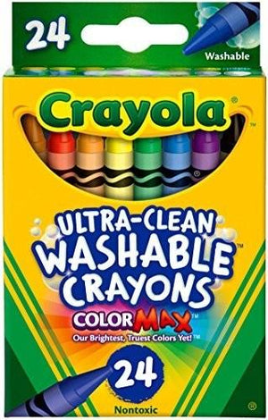Crayola 24 Ct Washable Crayons