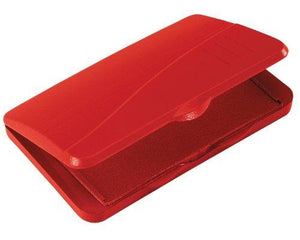 Avery Carter S Felt Stamp Pad, Red, 2.75 Inch X 4.25 Inch (21071)