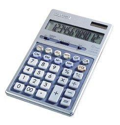 Sharp El339Hb Semi-Desk Executive Metal Top 12-Digit Calculator