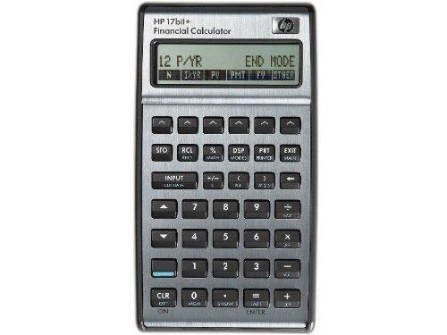 Hp 17Bii+ Financial Calculator - Silver