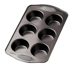 Wilton 2105-405 Excelle Elite 6 Cup Regular Muffin Pan