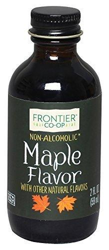Frontier Co-Op Maple Flavor, Non-Alcoholic, 2 Ounce Bottle