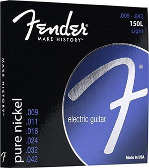 Fender 150L Pure Nickel Ball End 9-42 Electric Guitar Strings