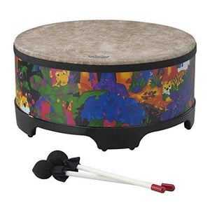 Remo Kids Percussion Gathering Drum - Fabric Rain Forest, 16""