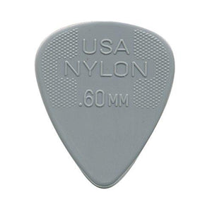 Jim Dunlop 44R.60 Nylon Standard, Light Gray, .60Mm, 72/Bag