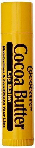 Cococare Cocoa Butter Lip Balm, .15 Oz, 6 Pack