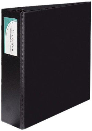 Avery Durable Binder With 4 Inch Gap Free Slant Ring - Black - One Binder