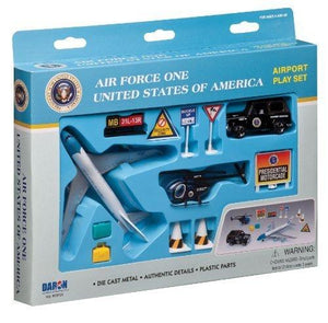 Daron Airforce One United States Of America Airport Playset