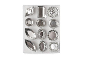 Ateco 4840 72-Piece Tartlet Mold Set