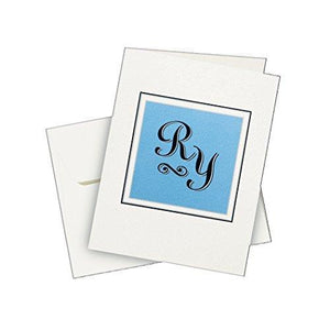 Avery Personal Creations Textured Heavyweight Note Card And Envelopes - 4-1/4 X 5-1/2 - 50 Per Box