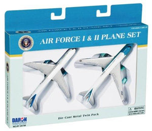 Daron Air Force One 2 Plane Set, Air Force One And Air Force Two