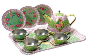 Schylling Children'S Tin Tea Set