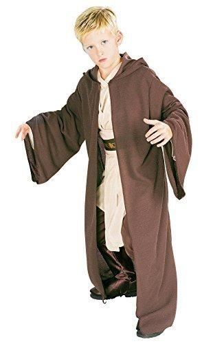 Rubies Star Wars Deluxe Hooded Jedi Robe, Medium