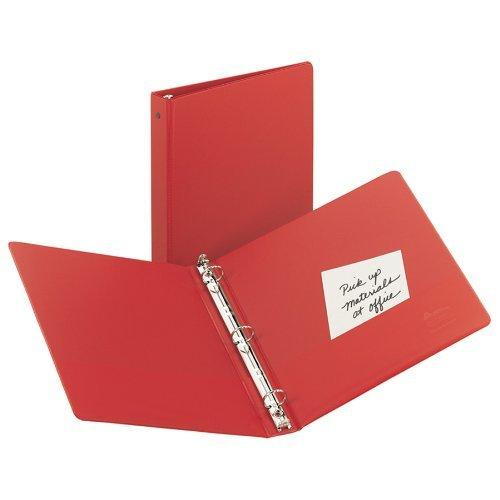 Avery Economy Binder With 1 Inch Round Ring - Red - 1 Binder
