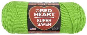 Red Heart E300.0672 Super Saver Economy Yarn, Spring Green