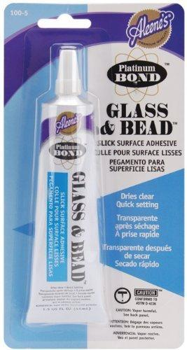 Aleene'S Platinum Bond Adhesive Glass & Bead 1.5 Oz