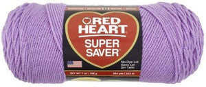 Red Heart E300.0530 Super Saver Economy Yarn, Orchid