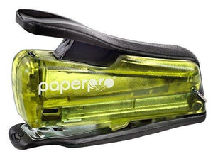 Paperpro Injoy 12 Reduced Effort Nano Stapler, Green/Black