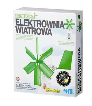 4M Green Science Windmill Generator By Toysmith