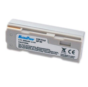 Maximal Power Db Fuj Np-80 Replacement Battery For Fuji Digital Camera/Camcorder (Silver)