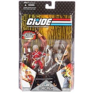 "Hasbro G.I. Joe 25Th Anniversary 3 3/4"" Wave 6 Action Figures Comic Book 2-Pack"