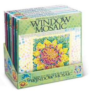 4M Window Mosaic Art - Designs May Vary