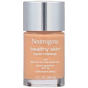 Neutrogena Cosmetics Healthy Skin Liquid Makeup, Warm Beige 90, 1 Fluid Ounce