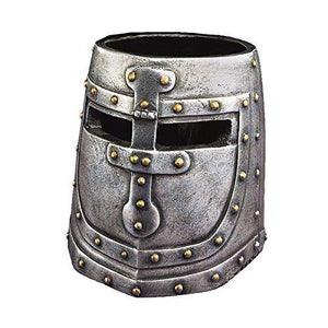 Design Toscano Knight'S Templar Helmet Desk Accessory In Two-Tone