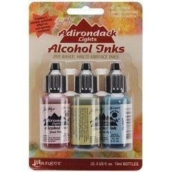 Ranger Adirondack Lights Alcohol Ink 1/2-Ounce 3/Pkg, Countryside