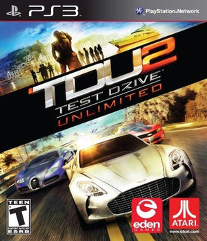 Electronic Arts Test Drive Unlimited 2 - Playstation 3