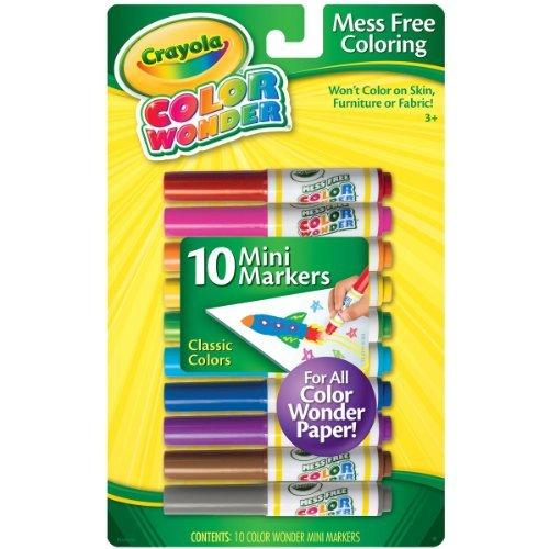Crayola Color Wonder 10 Mini Markers