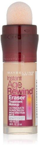 Maybelline New York Instant Age Rewind Eraser Treatment Makeup, Nude, 0.68 Fl. Oz.