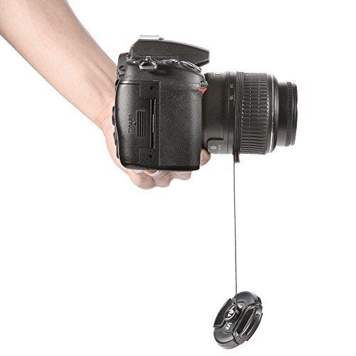 Neewer Lens Cap Keeper Holder For Canon Nikon Sony Pentax Fuji And All Other Slr Dslr Cameras And Video Cameras