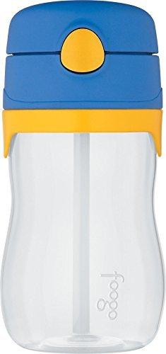 Thermos Foogo Phases Straw Bottle - Blue/Yellow - 11 Ounce