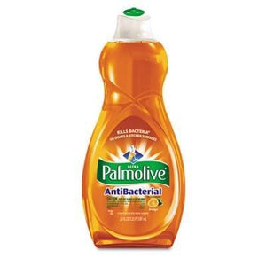 Palmolive CPM46076CT Dishwashing Liquid, Antibacterial, 20 oz., 12/CT, Orange