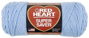 Red Heart E300.0381 Super Saver Economy Yarn, Light Blue