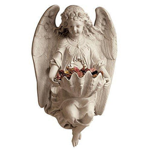 Design Toscano Brixton Abbey Angel Wall Sculpture