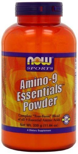 Now Sports Sports Amino-9 Essentials Powder,330-Grams