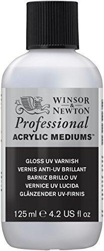 Winsor & Newton Professional Acrylic Medium Gloss Uv Varnish, 125Ml