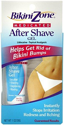 Bikini Zone Medicated After-Shave Gel For Bikini Area, 1 Oz (28 G)