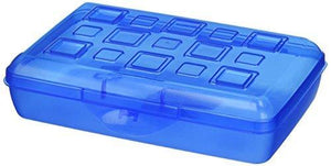 Sterilite Pencil Box With Splash Tint Lid (17224812)
