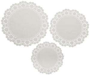 Wilton 2104 - 90005 24 Count Doilies - Multipack - White