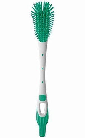 Mam Soft Baby Bottle Brush, Green/White